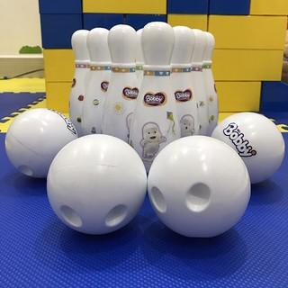 Bộ đồ chơi Bowling cho bé – Quà tặng của tã Bobby
