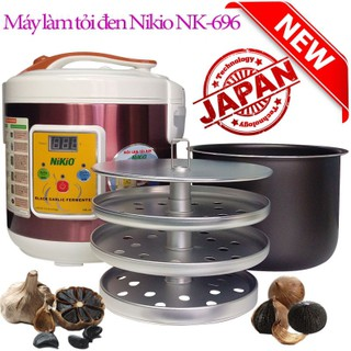 Máy làm tỏi đen Nhật Bản Nikio NK-695 - 5 lít - Đỏ Tím