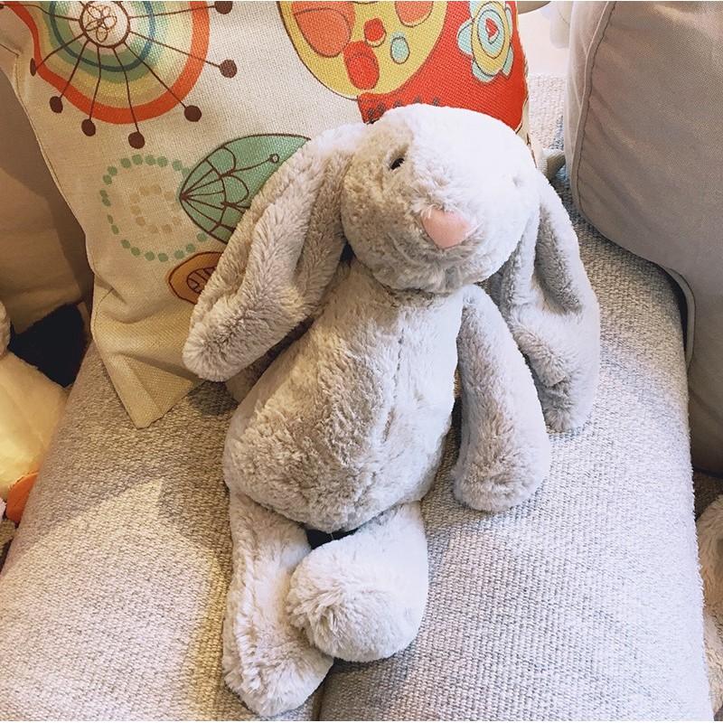 Thỏ nhồi bông dễ thương có 6 màu sắc khác