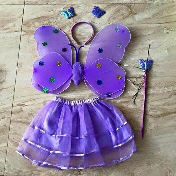Bộ cánh bướm - cánh tiên cho bé