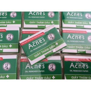 Giấy Thấm Dầu Acnes Oil Remover Paper 25 tờ thumbnail