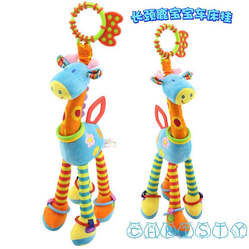 HHA-New Style size 37cm Giraffe Kids Soft Plush Toy Animal Stuffed Doll Toy