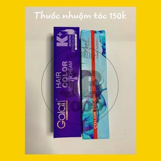 Thuốc nhuộm tóc nhiều màu TẶNG CHAI TRỢ NHUỘM không làm khô xơ hư tổn tóc, lên màu cực đẹp, phong cách thumbnail