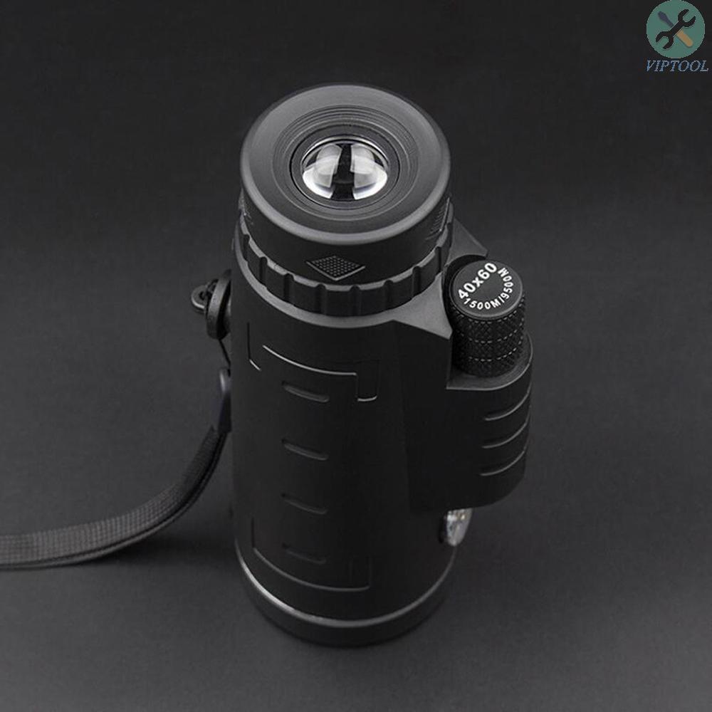 40*60 Portable Mobile Camera Telescope Outdoor Photograph Animal Watching Monocular Telescope