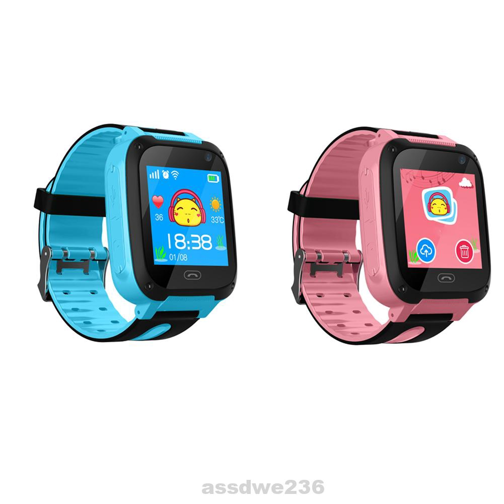 Adjustable Children Electronic Intelligent Positioning Multifunction Rechargeable Silicone Waterproof Smart Watch