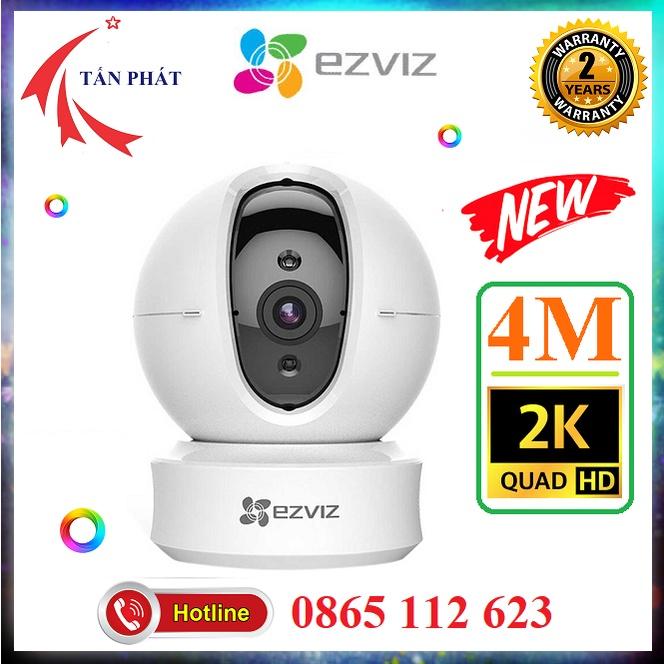 Camera 2M 4M Trong Nhà (XOAY 360) WIFI Ezviz C6N CV246 C6CN Smart Home 2K 1080P 2mp 4mp [Hỗ Trợ Cổng Lan]