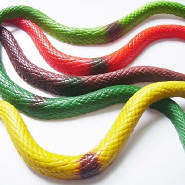 Children/Adult Prank Tool Simulation Snake Vivid Shape Scary Snake Halloween