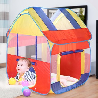 Lều đựng đồ chơi có thể gấp gọn siêu thú vị dành cho các bé