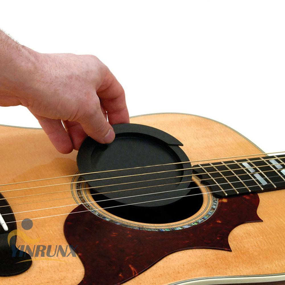 ♦♦Silicone Acoustic Classic Guitar Feedback Buster Sound Hole Buffer♦♦