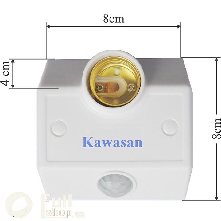 Đui đèn cảm ứng chuyển động hồng ngoại đèn tự sáng khi có người tới gần Kawasan SS682