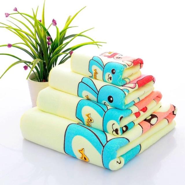 5 bộ 3 khăn tắm,gội,rửa mặt xuất Thái siêu mềm mịn - 3260867 , 577630398 , 322_577630398 , 355000 , 5-bo-3-khan-tamgoirua-mat-xuat-Thai-sieu-mem-min-322_577630398 , shopee.vn , 5 bộ 3 khăn tắm,gội,rửa mặt xuất Thái siêu mềm mịn