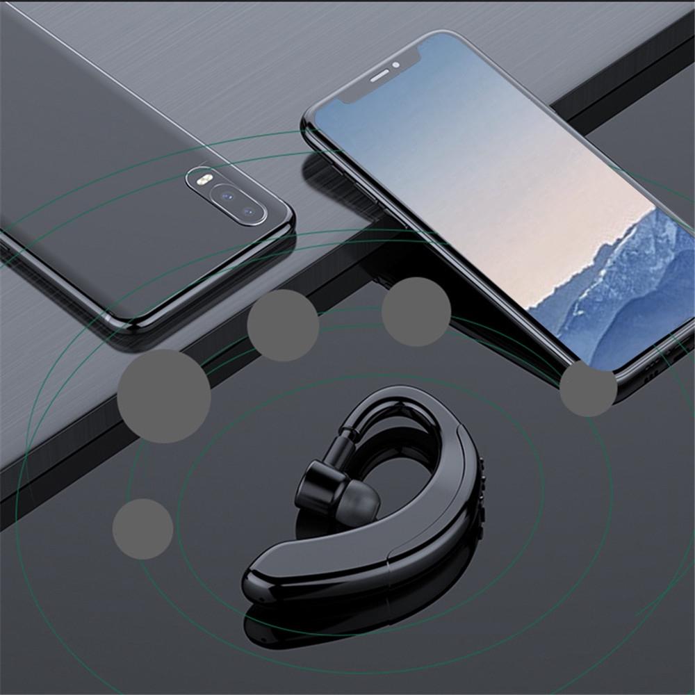 Tai Nghe Bluetooth 5.0 Móc Vành Tai Có Micro