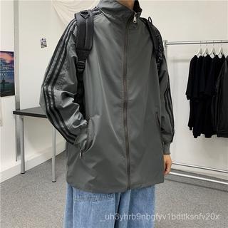 Áo Khoác Nam mùa xuân và mùa thu Hàn Quốc xu hướng Hoang DãinsSiêu LửacecPhong cách thể thao áo khoác đẹp trai retro chi