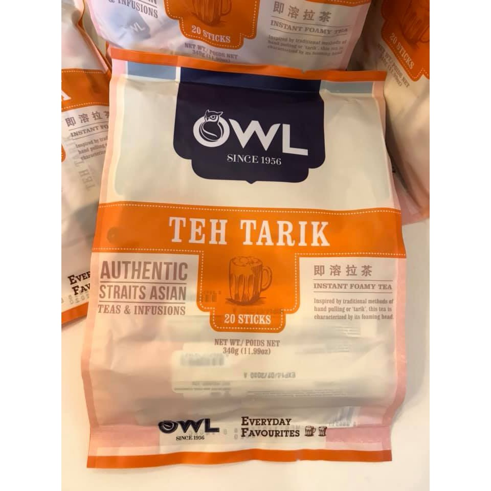 Trà Sữa Singapore OWL Teh Tarik (hàng xách tay)