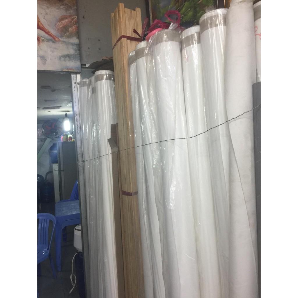 Vải toan/canvas để vẽ (khổ 180cm, khổ 185cm)