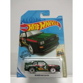 Xe Mô Hình Chính Hãng HotWheels – 84 Audi Sport Quattro