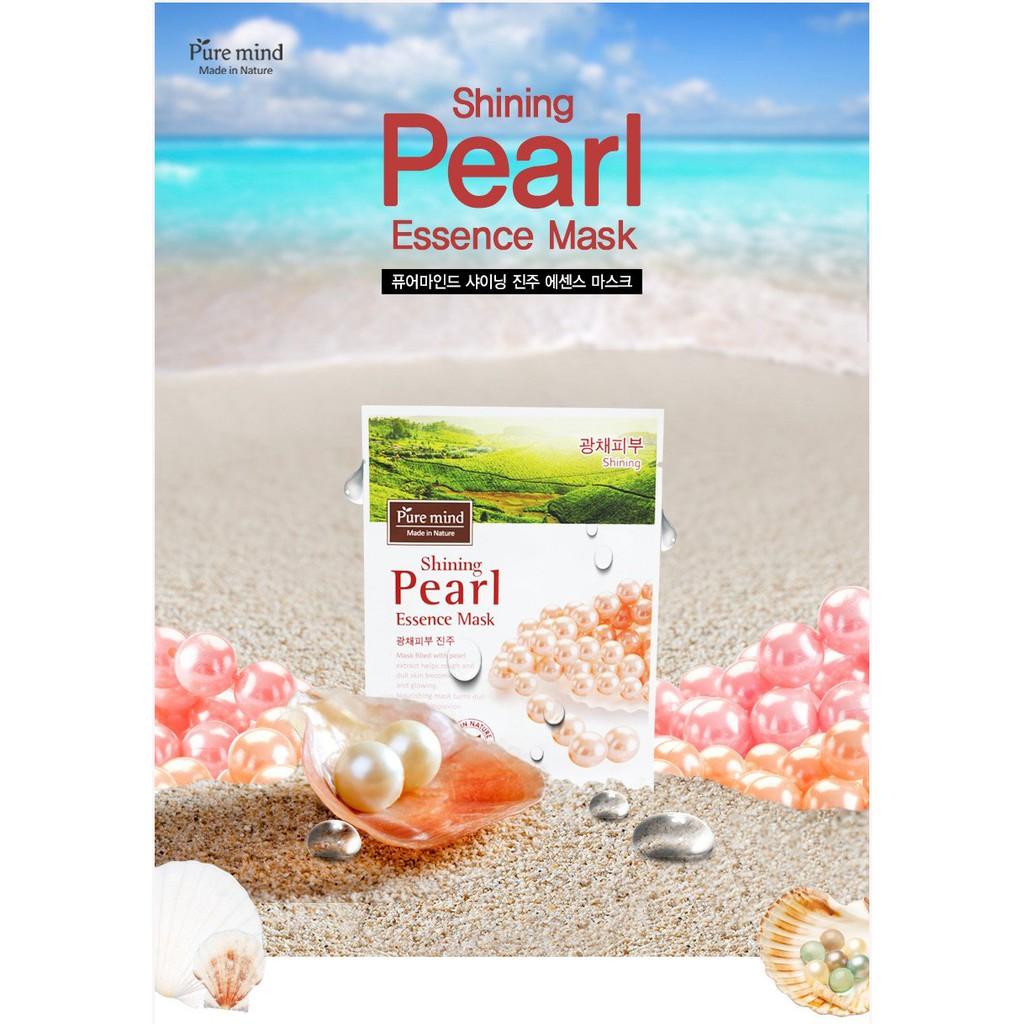 [Hàng chính hãng] Bộ 5 Mặt nạ giấy dưỡng da trắng mịn chiết xuất bột ngọc trai Pure Mind Shining Pea - 10080634 , 1084830884 , 322_1084830884 , 175000 , Hang-chinh-hang-Bo-5-Mat-na-giay-duong-da-trang-min-chiet-xuat-bot-ngoc-trai-Pure-Mind-Shining-Pea-322_1084830884 , shopee.vn , [Hàng chính hãng] Bộ 5 Mặt nạ giấy dưỡng da trắng mịn chiết xuất bột ngọ