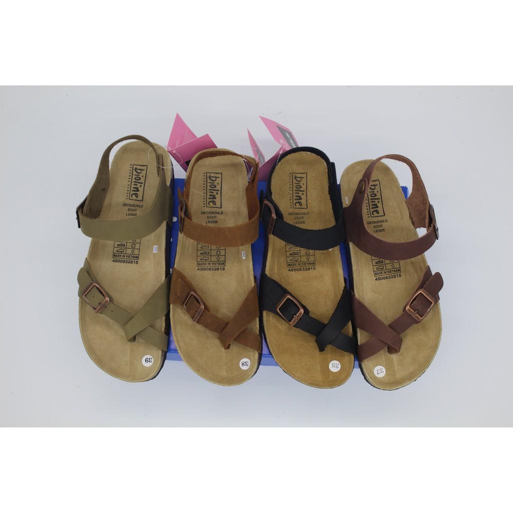 Giày sandals da bò unisex xuất khẩu châu âu mã  D14