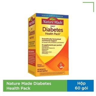 [Date2022] Nature Made Diabetes Health Pack Mỹ 60 Gói