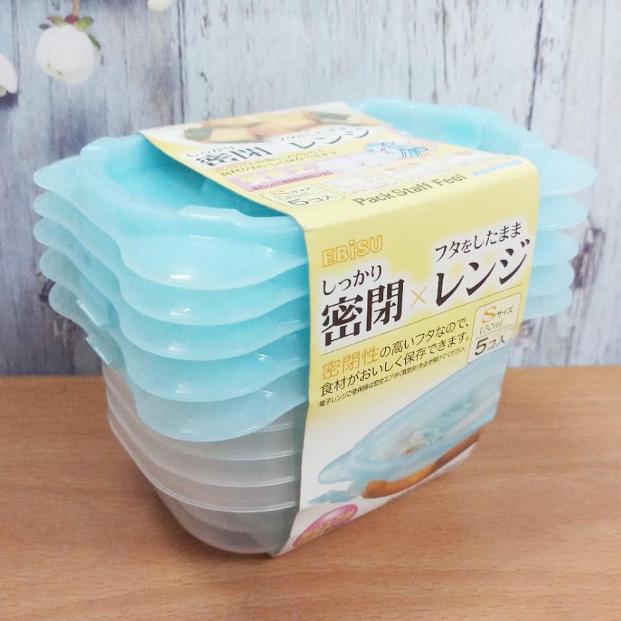 Set 5 hộp nhựa đựng thực phẩm 150ml Nhật - 2779722 , 979945205 , 322_979945205 , 65000 , Set-5-hop-nhua-dung-thuc-pham-150ml-Nhat-322_979945205 , shopee.vn , Set 5 hộp nhựa đựng thực phẩm 150ml Nhật