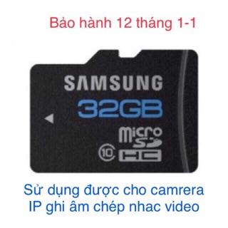 [Freeship toàn quốc từ 50k] Thẻ samsung 32G bảo hành 12 tháng thumbnail