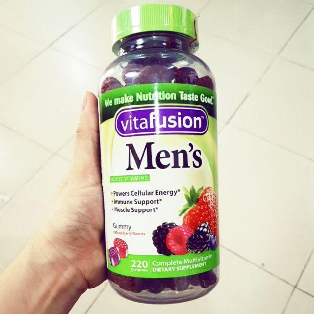 220 viên Kẹo nhai bổ sung Vitamin D3 cho nam Vitafusion - 2598328 , 1032002757 , 322_1032002757 , 350000 , 220-vien-Keo-nhai-bo-sung-Vitamin-D3-cho-nam-Vitafusion-322_1032002757 , shopee.vn , 220 viên Kẹo nhai bổ sung Vitamin D3 cho nam Vitafusion