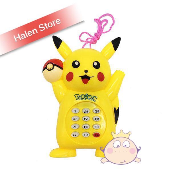 Đồ chơi điện thoại phát nhạc cho bé dễ thương (dùng pin)