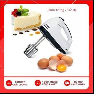 [Hot] Máy Đánh Trứng Cầm Tay 7 Tốc Độ Công Suất 180W thumbnail