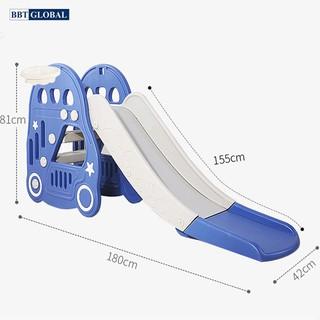 Cầu trượt cho bé máng dài BBT Global WL03