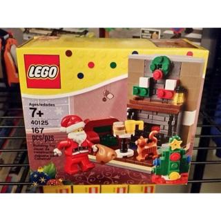 Lego 40125 santa visit ( chuyến thăm của ông già Noel )