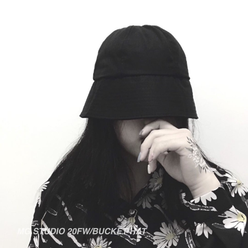 MG STUDIO/Trendy dome bucket hat #6