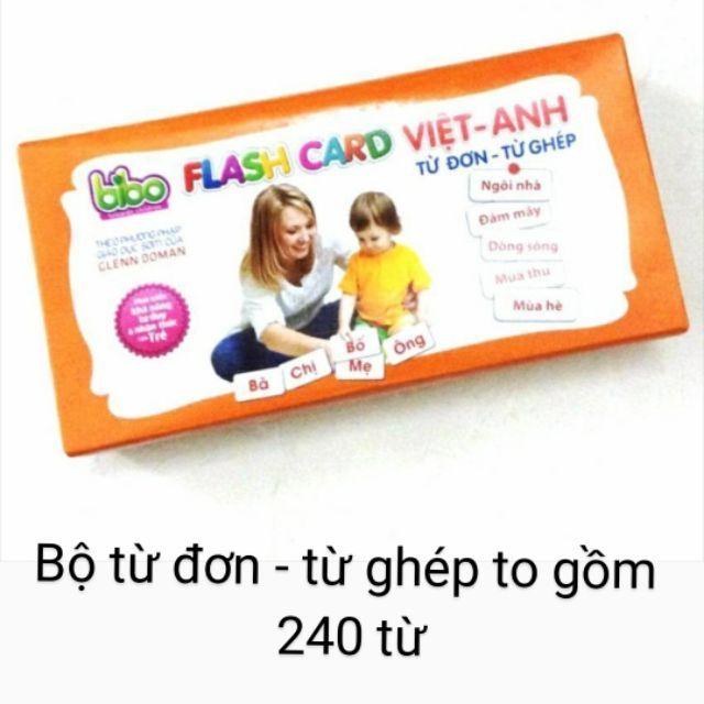 Bộ thẻ học thông minh Bibo Flash card Việt Anh từ đơn từ ghép No.0881 - 2664228 , 580842606 , 322_580842606 , 150000 , Bo-the-hoc-thong-minh-Bibo-Flash-card-Viet-Anh-tu-don-tu-ghep-No.0881-322_580842606 , shopee.vn , Bộ thẻ học thông minh Bibo Flash card Việt Anh từ đơn từ ghép No.0881