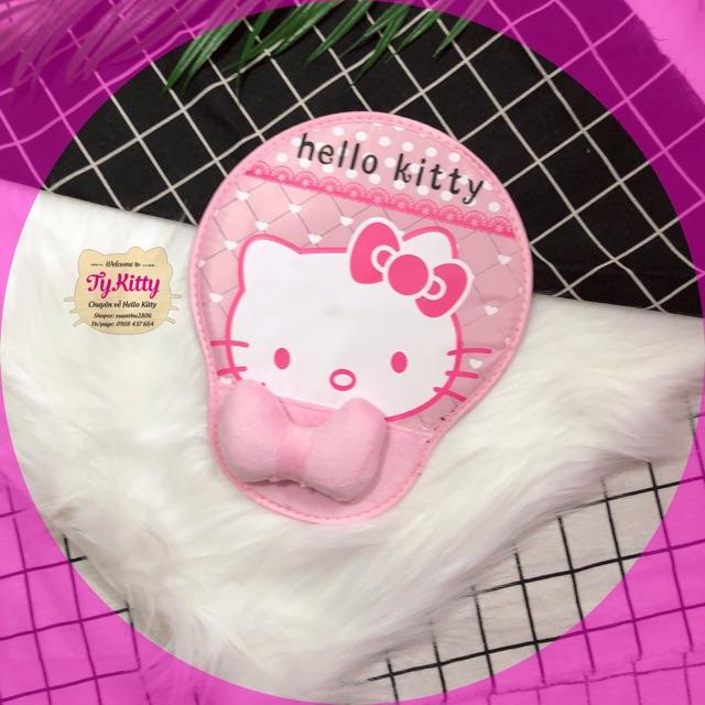 Lót chuột đế dầy hello kitty