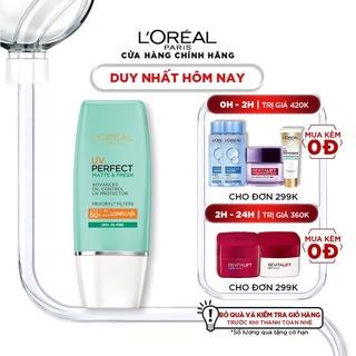 [Mã FMCGMALL giảm 8% Tối đa 80K đơn 250K] Kem chống nắng bảo vệ da L'Oreal Paris UV Perfect SPF50+ PA++++ 30ml