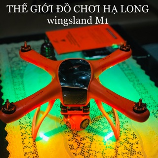 MÁY BAY FLYCAM WINGSLAND M1,GPS,PIN 5200mah