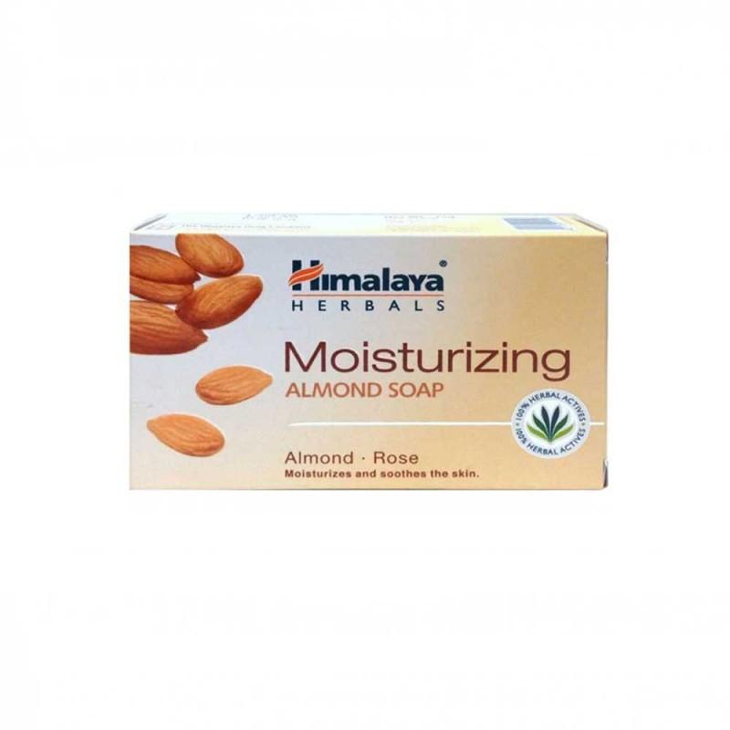 [Nhập COSDEP15 -15% ĐH300K]Xà phòng hạnh nhân dưỡng ẩm Himalaya Moisturizing Almond Soap 75g