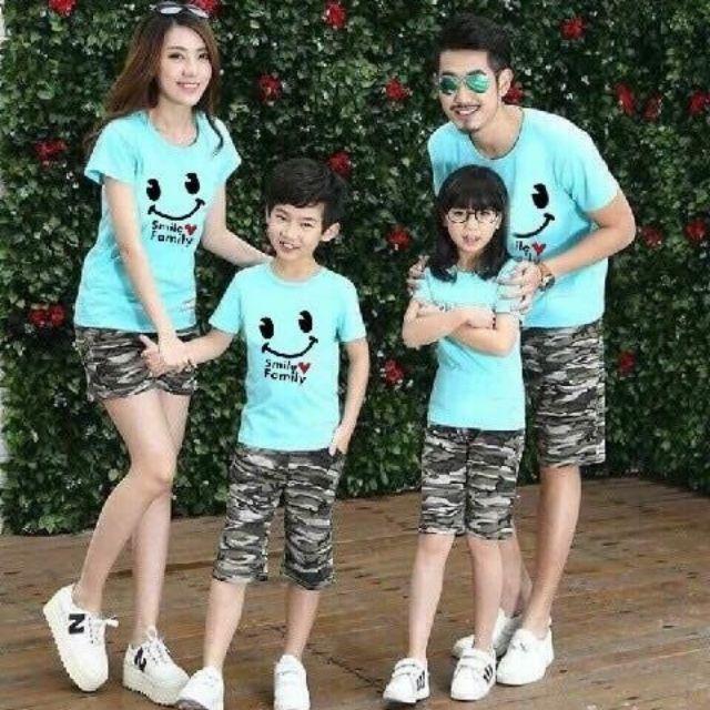 Combo 11 áo gia đình( 3 mẫu)