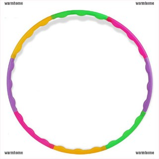 warmhome Fitness Hula Hoop Massage Hoops Hula-hoop Kid Bodybuilding Hoops thro