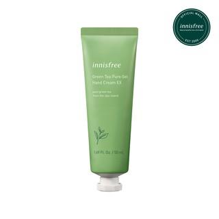 Gel dưỡng da tay hương trà xanh innisfree Green Tea Pure Gel Hand Cream EX 50ml