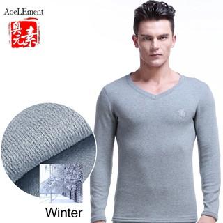 Áo Sweater Mỏng Tay Dài Ấm Áp Thời Trang Mùa Đông Cho Nam