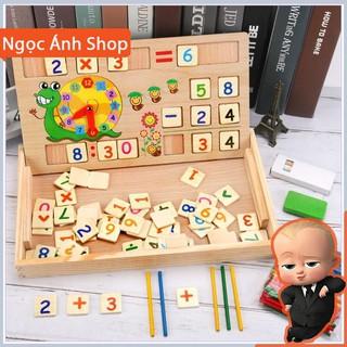 [Na Shop] Bảng gỗ toán học thông minh phát triển trí tuệ cho bé [ SP039331]