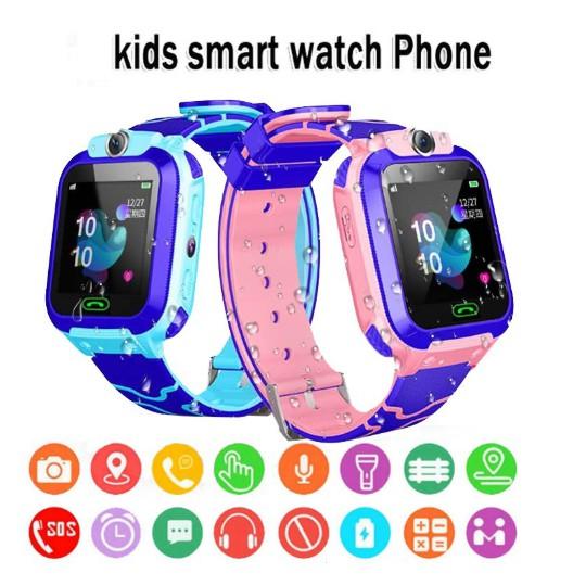 Đồng hồ thông minh trẻ em Q12 Plus định vị cảm ứng nghe gọi 2 chiều Giám Sát An Toàn Cho Bé