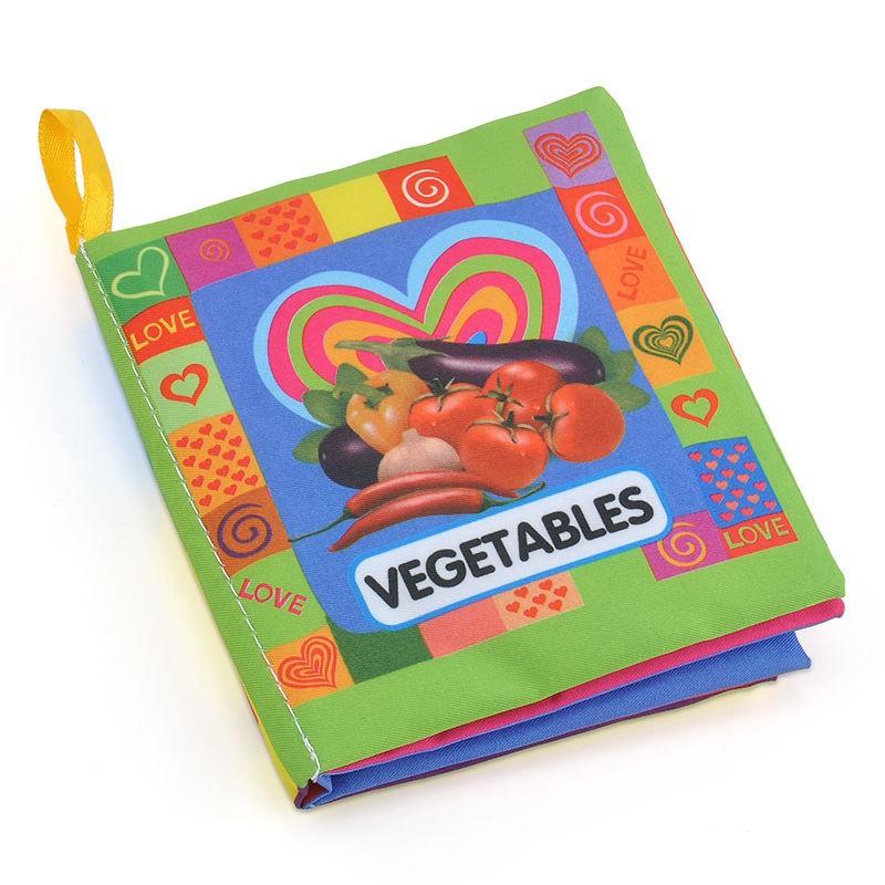 Infant Baby Kids Intelligence Development Soft Cloth Cognize Book