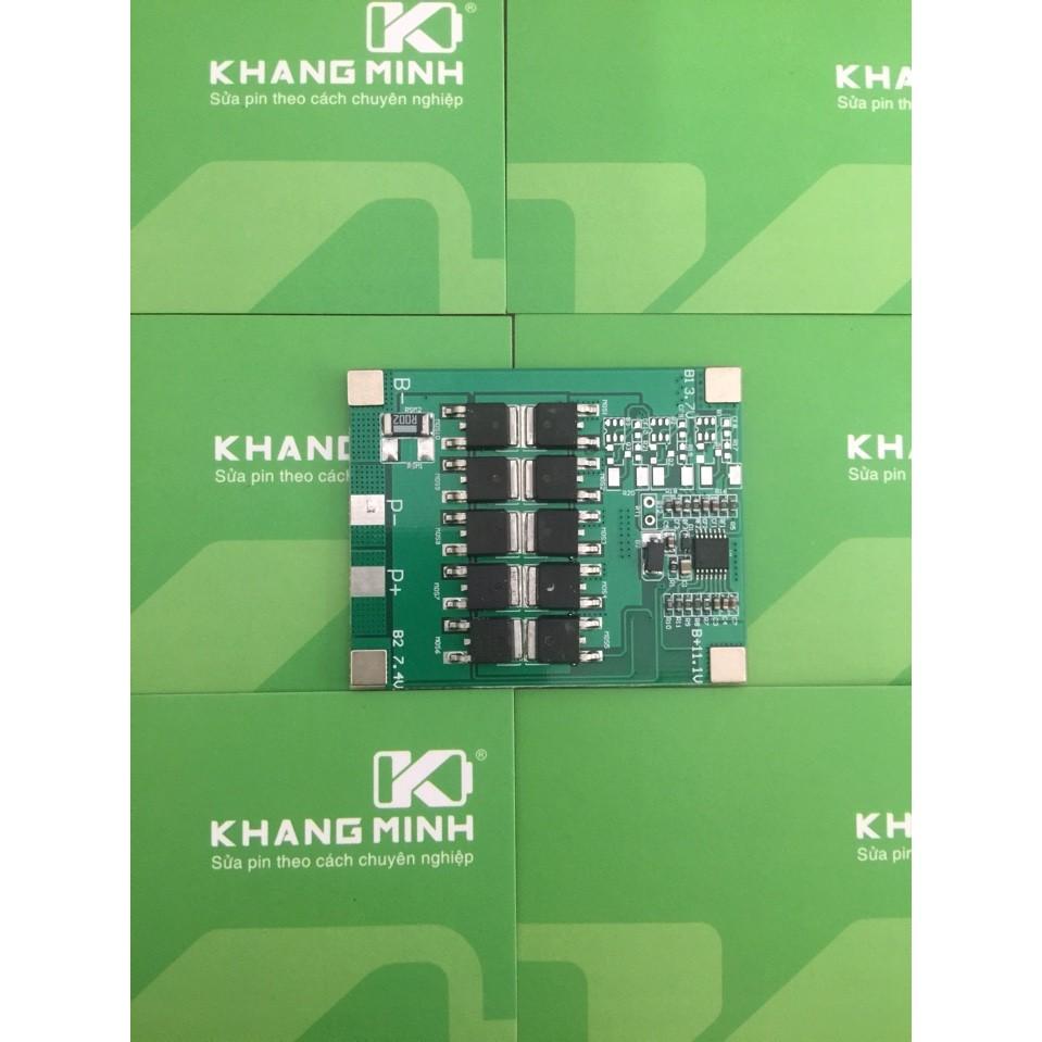 KM Mạch 3S 12.6V - 30A Lite, sạc pin Li-ion. Chuyên dùng cho pin máy khoan 10.8v 11.1v 12v