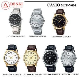 [ ] Đồng hồ nam Casio MTP-V001 Series MTP-V001D MTP-V001GL MTP-V001L Chính hãng Anh Khuê thumbnail