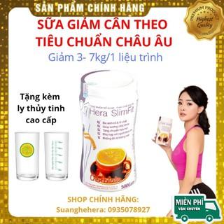 [FREE SHIP] Sữa Giảm Cân Hera Slimfit 500g Giảm cân nhanh, giảm cân tại nhà, giảm cân an toàn thumbnail