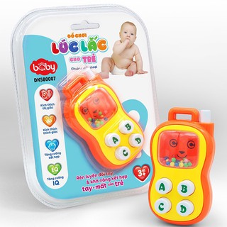 Đồ chơi DUKA lúc lắc cho trẻ - Chuông điện thoại DK580007 (3m )