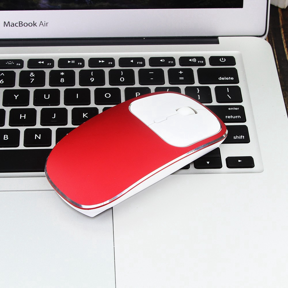 Chuột Hợp Kim Nhôm Không Gây Tiếng Ồn Cổng Usb Type C Cho Pc Laptop Ios