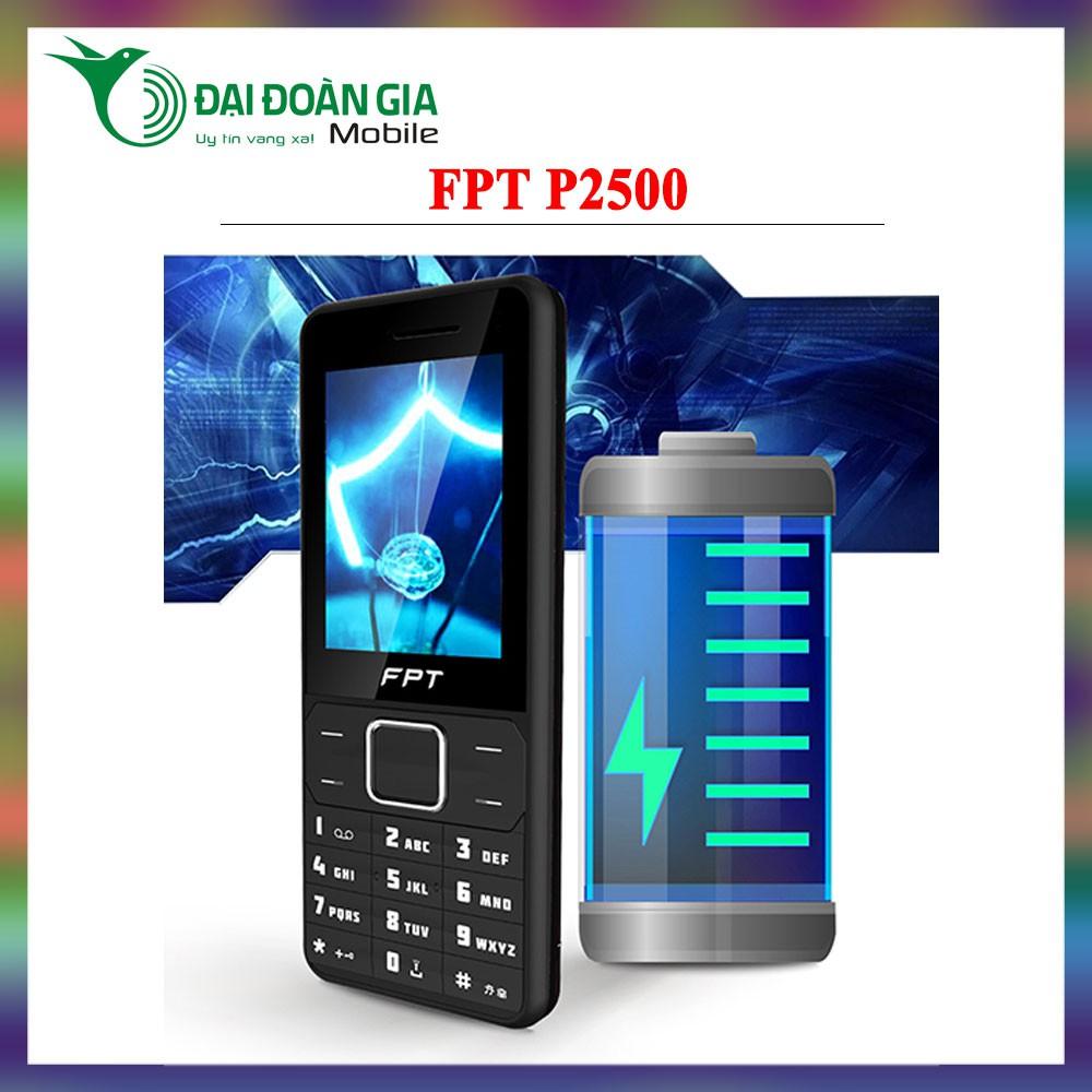 Điện thoại FPT P2500 - Pin khủng - Hàng chính hãng