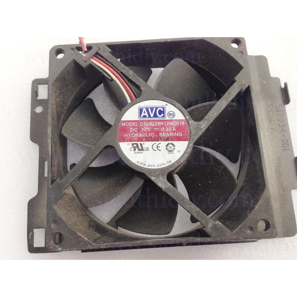 Quạt Fan 9 AVC 12V 0.2A tháo máy đồng bộ 3pin